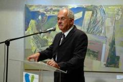 Varga Ferenc köszönti a megjelenteket